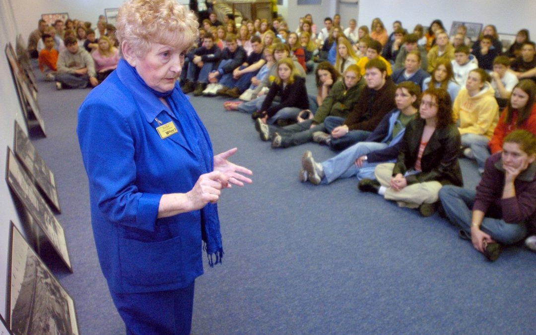 Elkhart Education Foundation Sponsors Holocaust Survivor Eva Kor