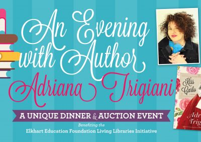 An Evening with Author Adriana Trigiani