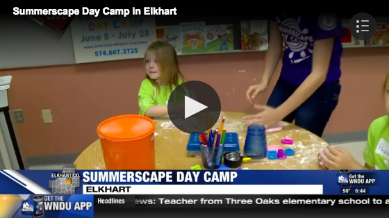 WNDU16 News:  Elkhart Education Foundation's new summer camp kicks off